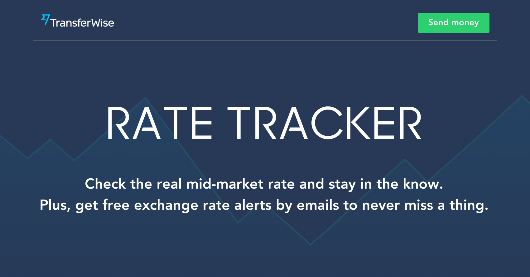 Exchange Rate Alerts | Rate Notifications by TransferWise
